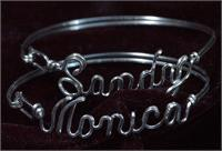 Name Bracelets Sandy,Monica